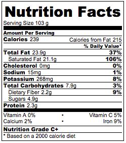 vegan-probiotic-yogurt-nutrition-facts
