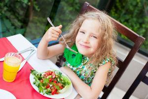 girl-eating-a-salad
