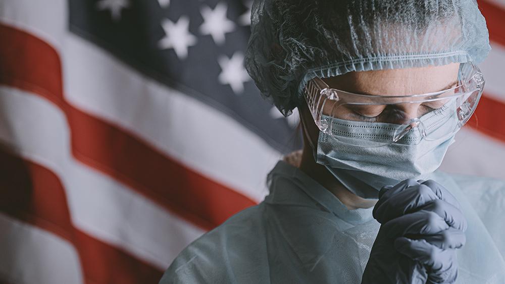 Coronavirus-Nurse-Worried-America-Face-Mask-Protection