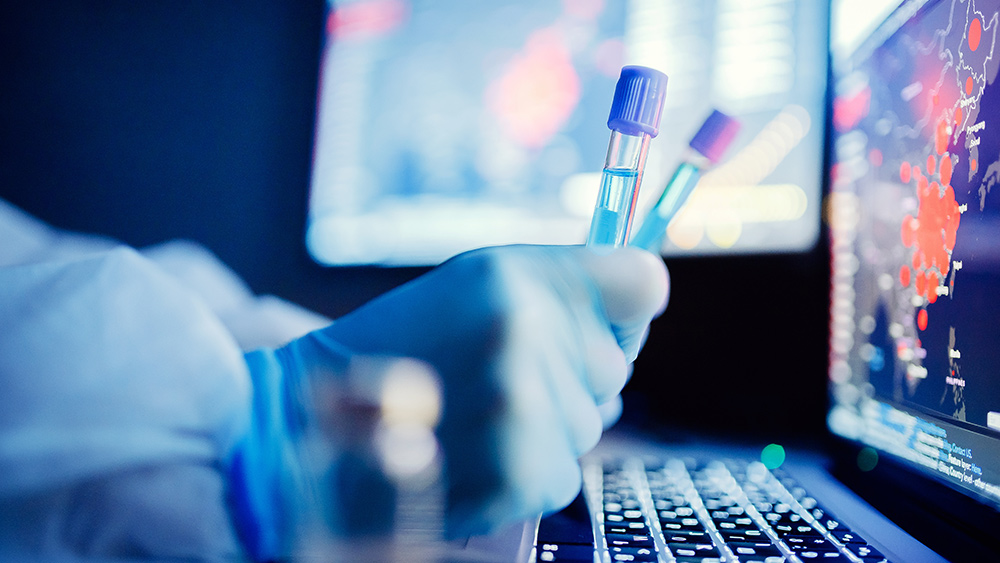 Coronavirus-Vaccine-Cure-Testing-Lab-Computer