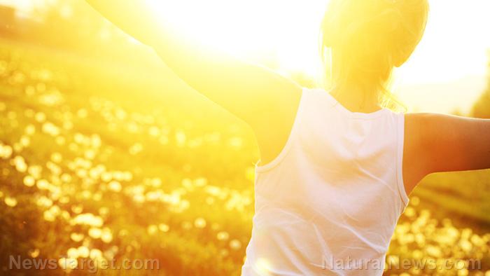 Woman-Freedom-Nature-Sunlight-Vitamin-D