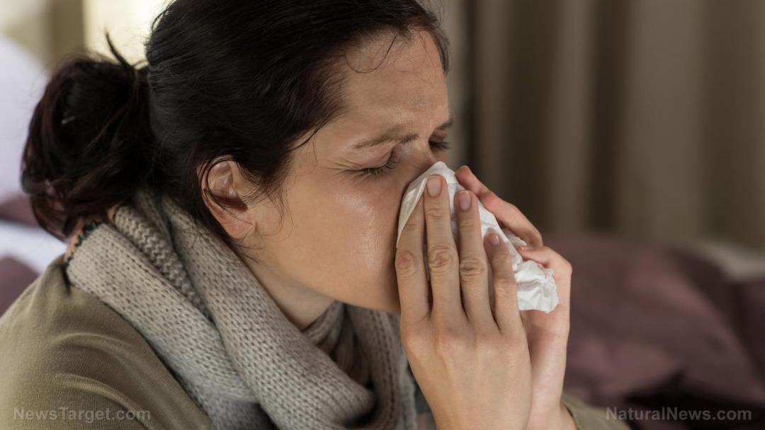 Woman-Sick-Sneeze
