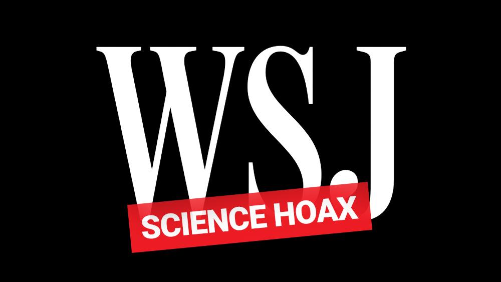 WSJ-Science-Hoax
