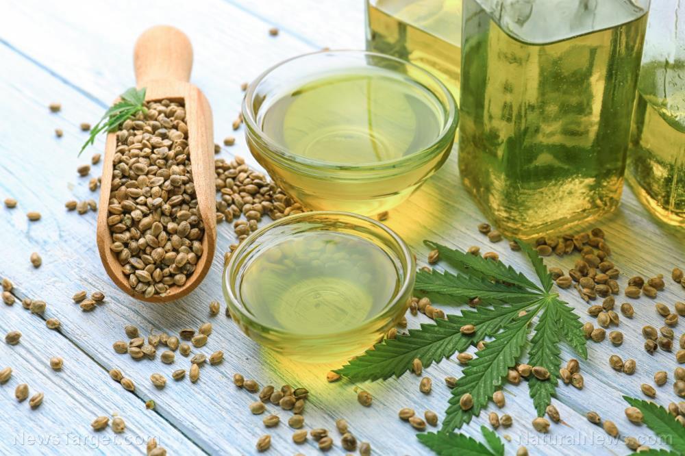 Hemp-Oil-Background-Bottle-Bowls-Cannabis-Composition
