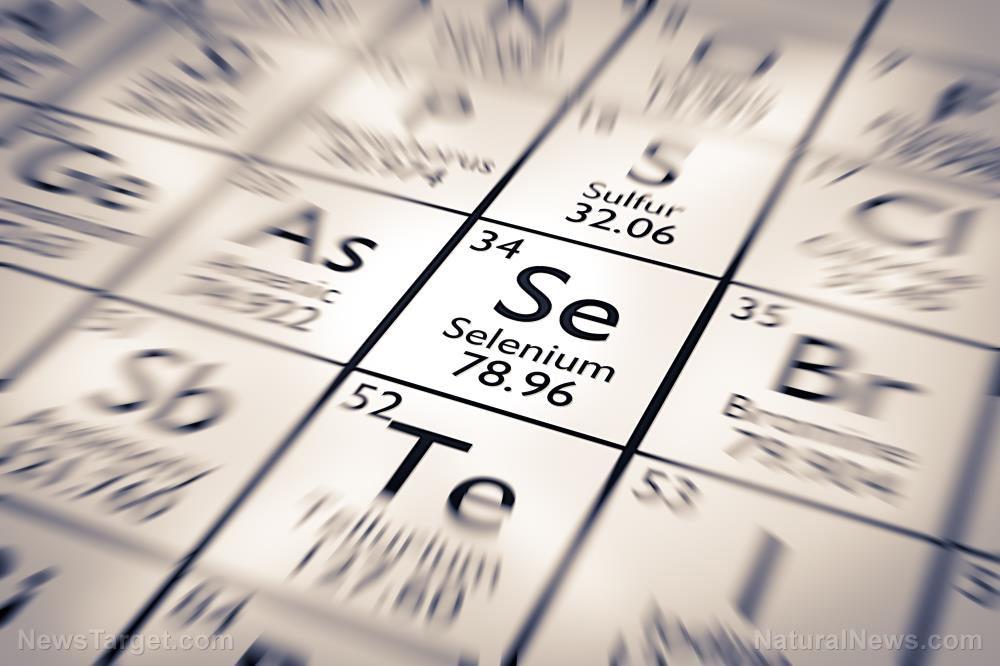 Selenium-Periodic-Table-Atom-Atomic-Background-Button