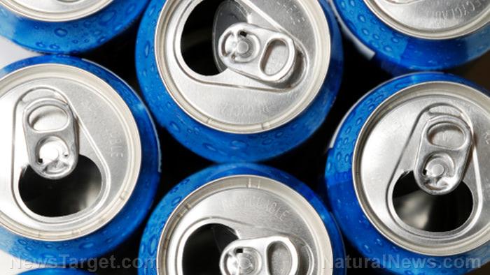 Blue-Soda-Cans-Open