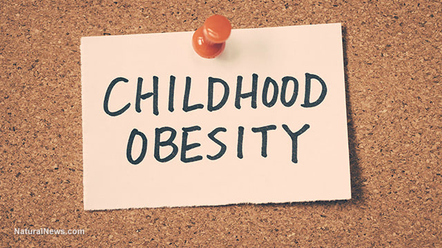 Childhood-Obesity-Post-It-Note-Cork-Board