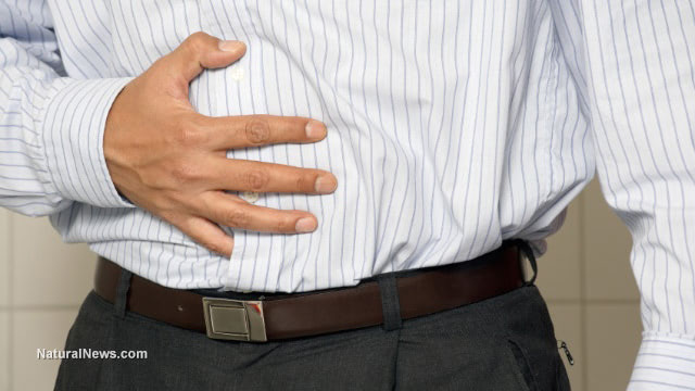 Closeup-Of-A-Man-Having-Stomach-Pain-Or-Indigestion