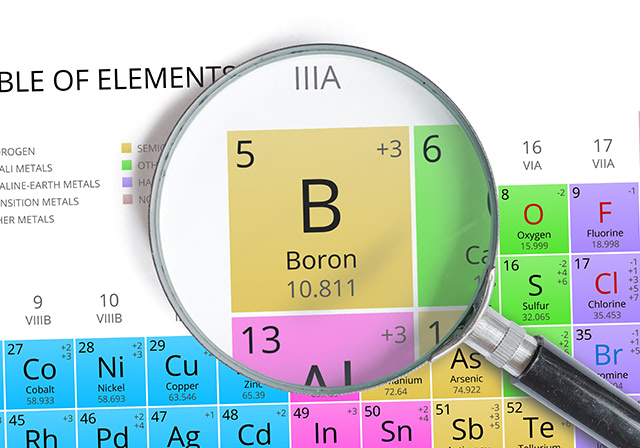 Boron, a trace mineral, found to be a potent cancer-preventing substance