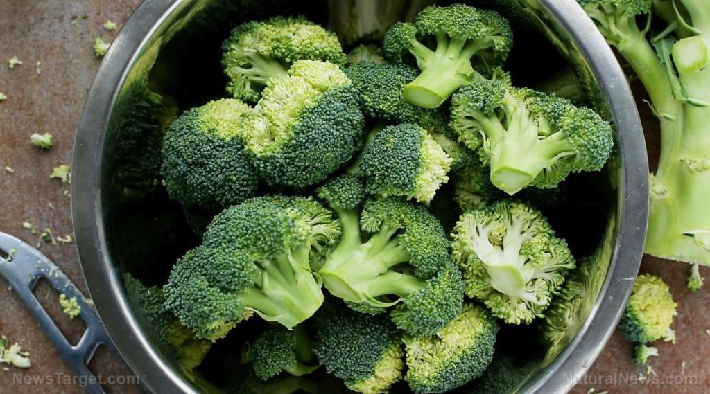 Analysis of broccoli florets reveals what phytochemicals are present in young and mature broccoli