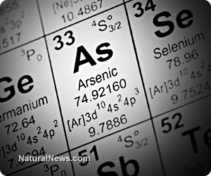 How arsenic blocks the body from removing other heavy metals