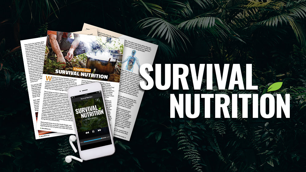 Survival Nutrition audio book LAUNCHED: Free download – 8 hours of audio mp3 plus PDF reference transcript – get it here