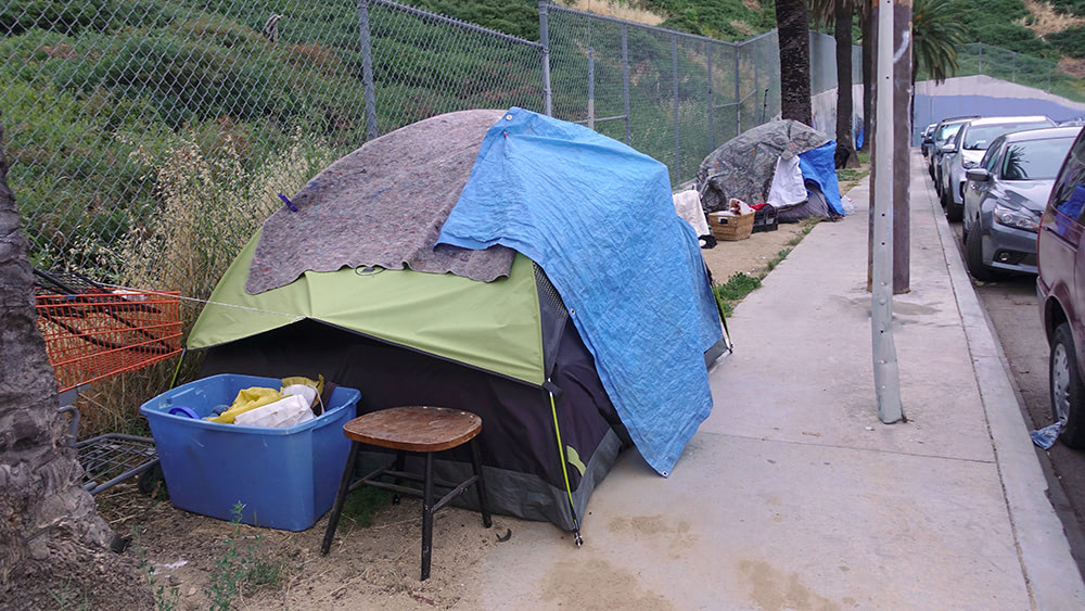 COVID-19 takes hold among the homeless in Los Angeles