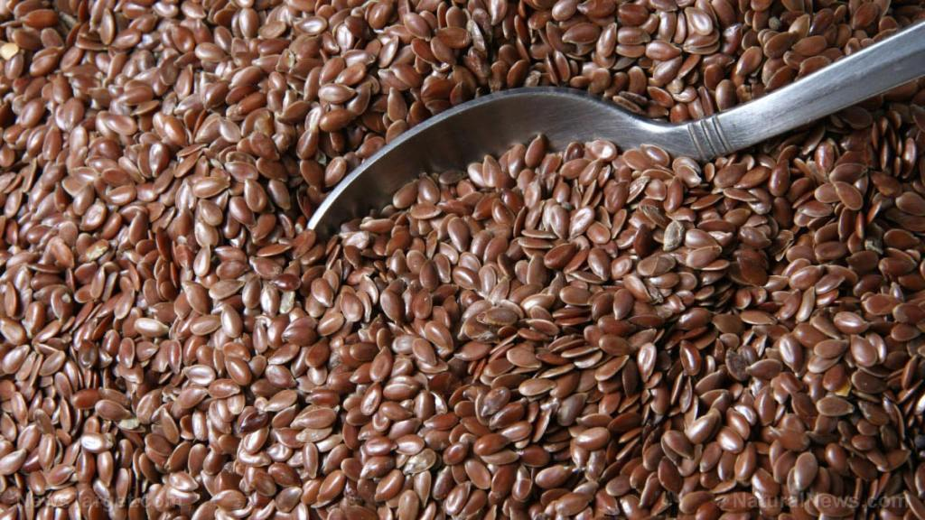 Here's another health benefit of flaxseed: Improved gum health