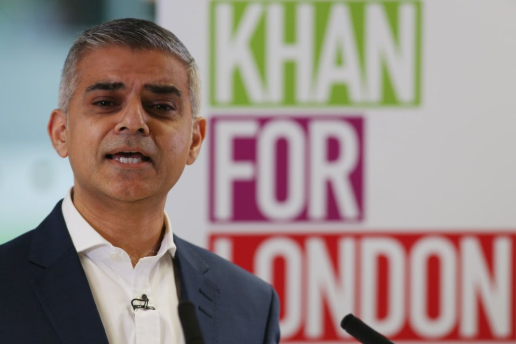 London Mayor Sadiq Khan: Minorities should get coronavirus vaccine first