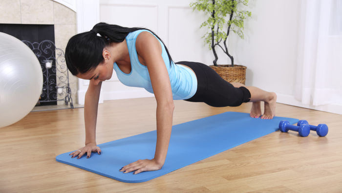 Stuck indoors? Here's how you can get a good workout at home