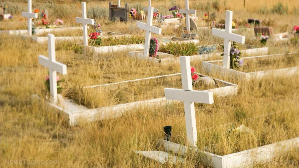 THOUSANDS of graves dug in Chile in preparation for coronavirus surge