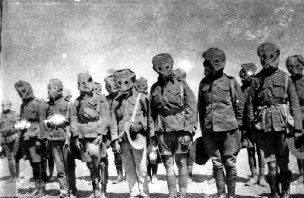 Over 100 years later Bayer still refuses to take responsibility for developing the poison gas used during World War I