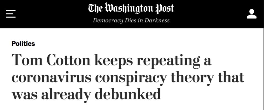 The Washington Posts: Democracy Dies in Darkness