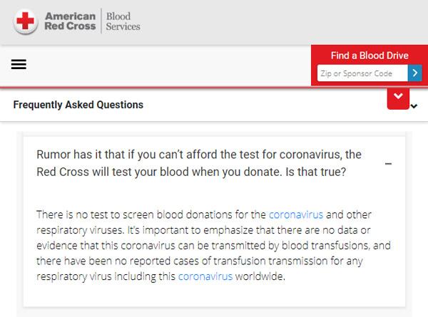 Red Cross Rumor Has It Coronavirus-Blood-Donation