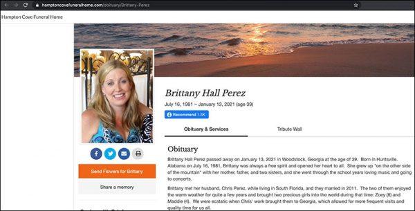 Brittany Hall Perez