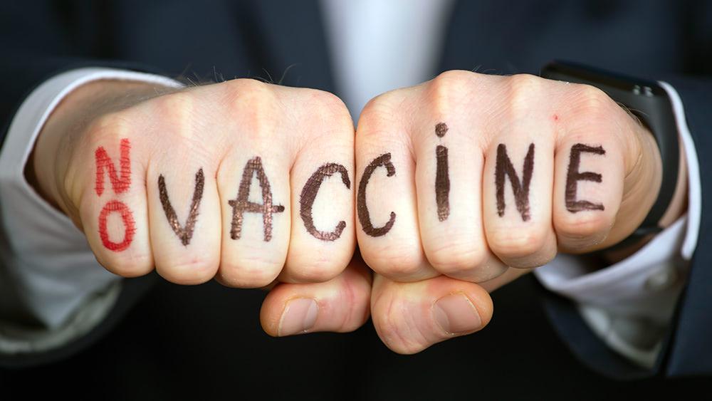"CLAIM: Vaccine ""police"" now going door-to-door in California pushing covid injections"