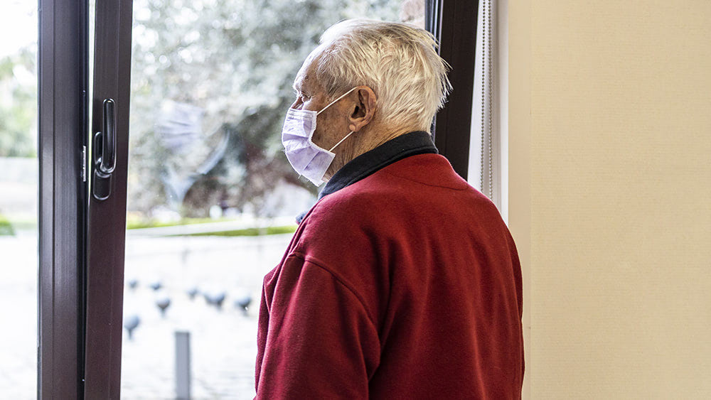 """Nursing homes experiencing large disease """"outbreaks"""" due to covid vaccination"""