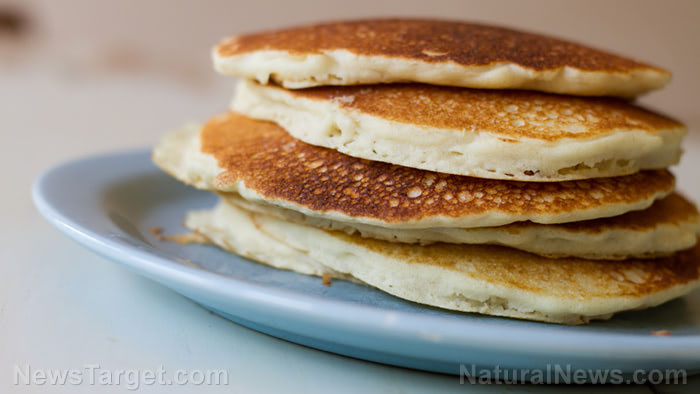 Have a taste of frontier survival cooking with cornmeal pancakes