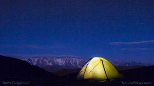 Tent Camping-Night