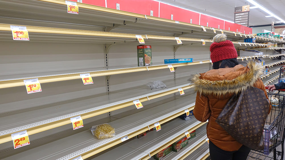 Grocers are now stockpiling food supplies ahead of expected inflation, food supply shortages