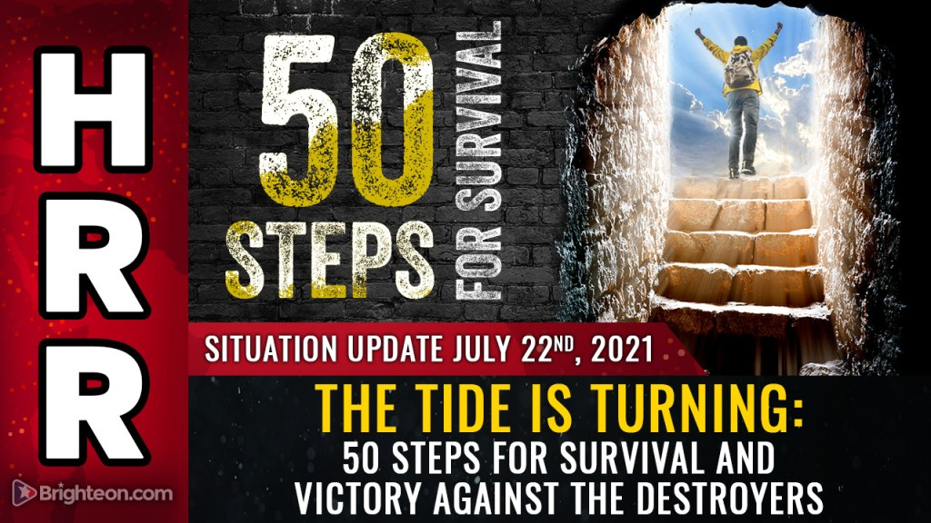 The tide is turning: 50 steps for survival and VICTORY against the destroyers