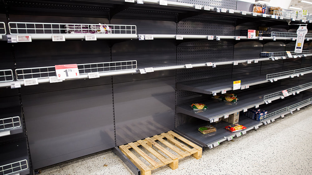 Collapse imminent? Food suppliers admit they can't keep store shelves stocked amid supply chain disruptions, worker shortages