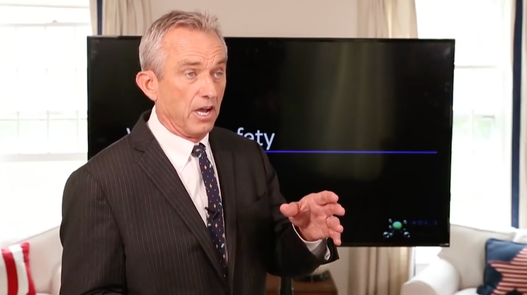 Robert F. Kennedy Jr. warns that Fauci, Gates are committing mass genocide against humanity