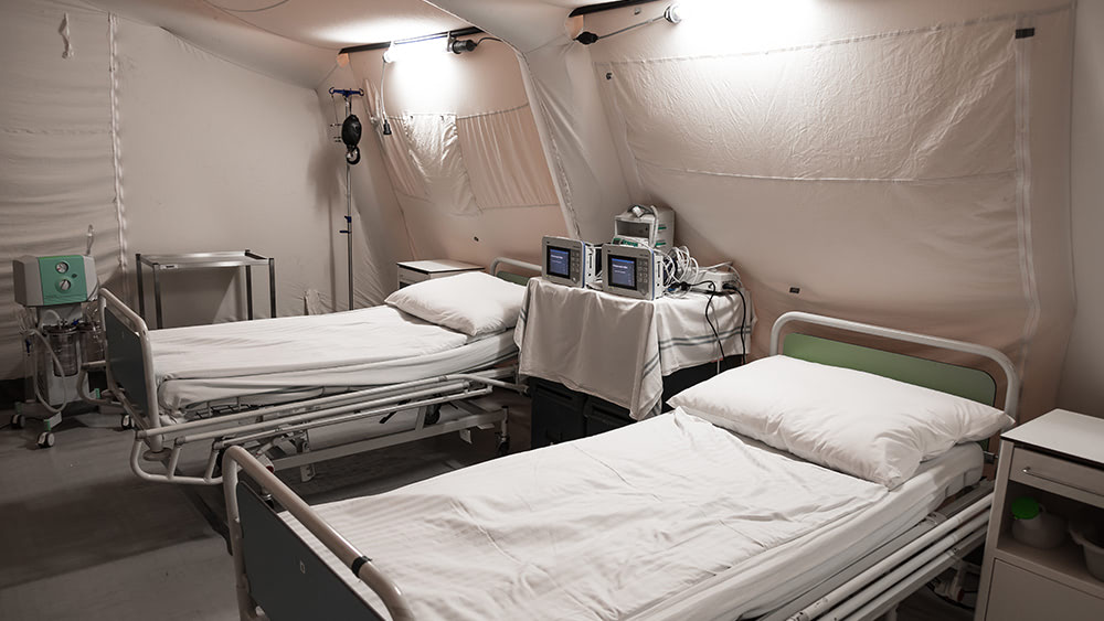 PROOF: Hospitals are lying about being overrun with covid patients… many facilities are EMPTY