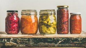 home food preserving or canning