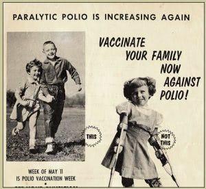 Vaccinate Polio Propaganda