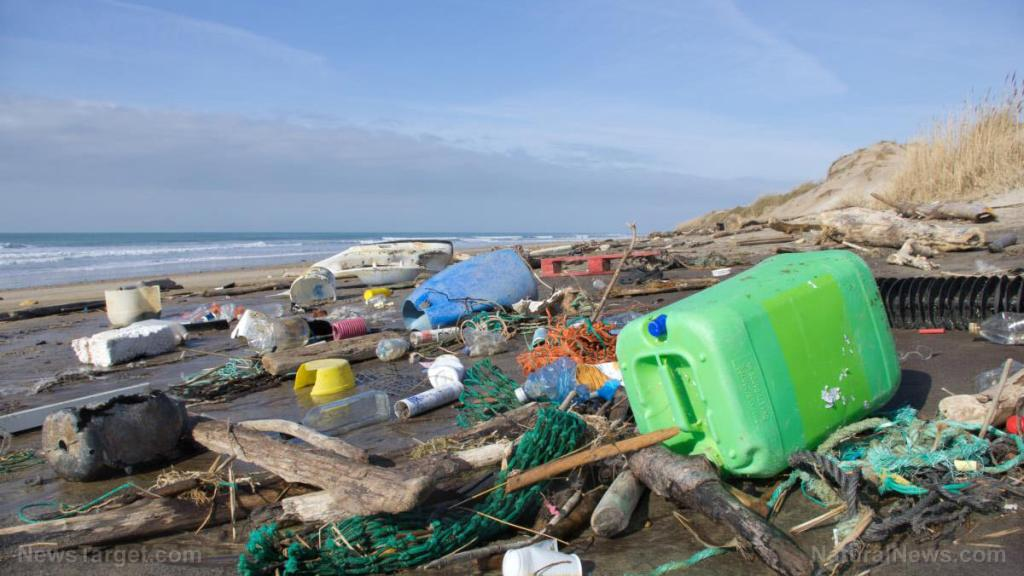 The Pacific Ocean is becoming the world's largest trash dump