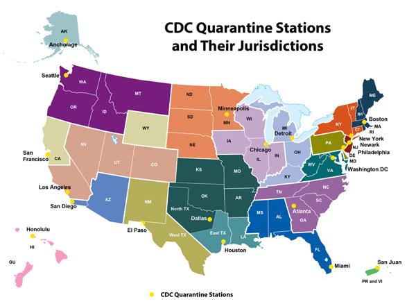 CDC Quarantine Stations
